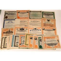 Oil Syndicate Stock Certificates (40)  [127499]