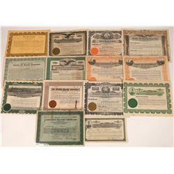 Texas Oil Company Royalty Stock Certs (14)  [127476]