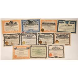 Texas Oils Includes Two Beaumont's Issued 1902 Plus Other Areas (11)  [128709]
