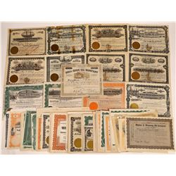 Massive Wyoming Oil Stock Collection (130)  [128754]
