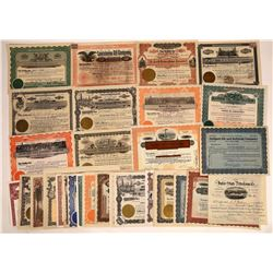Gulf States Oil Stock Certificate Group (36)  [128732]