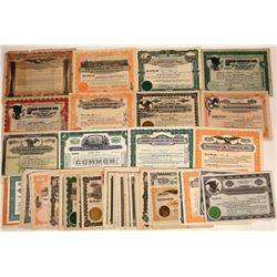 Ohio Valley Oil Stock Group Includes Two #1 Certificates (59)  [128735]