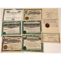 Oil Drilling  & Equipment Company Stock Certificates (7)  [127471]