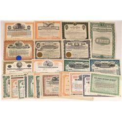 Oil Refinery Stock Certificates -35  [127503]