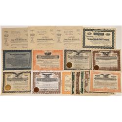 Petroleum and Fuel Companies Stock Certificates (16)  [127729]