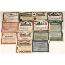 Petroleum Stock Certificates - 13  [127505]