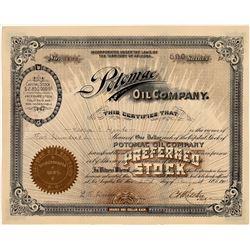 Potomac Oil Company Stock, Kern River Producer, 1901  [128667]