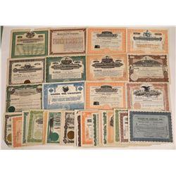 U.S. Oil Stock Certificate Group, 1915-1919 (65)  [128756]