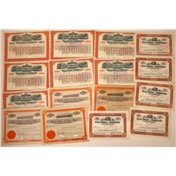 Fifteen East Bay Railroad Stock Certificates  [128885]