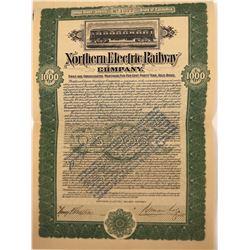 Northern Electric Railway Company Bond  [113950]