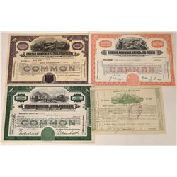 Chicago, Milwaukee, St. Paul and Pacific Railraod Stock Group  [123897]