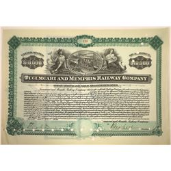 Tucumcari & Memphis Railway Company Bond  [113956]