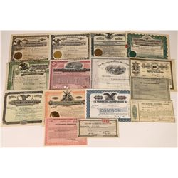 14 Railroad Related Company Stock Certificates  [127385]
