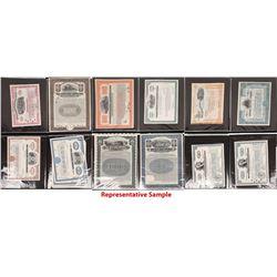 American Railroad Stocks and Bond Collection - 2 Folio Books  [133474]