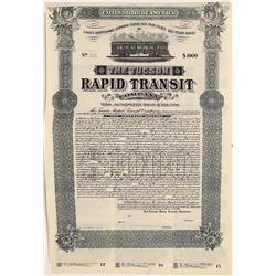 Tucson Rapid Transit Company Bond  [118537]