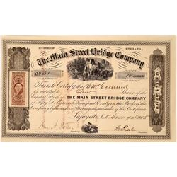 1865 Bridge Company  Stock Certificate  [127371]