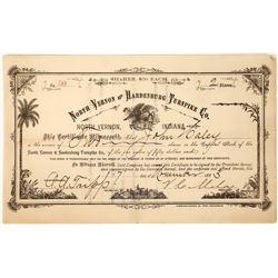 1883 Turnpike Company Stock Certificate  [127370]