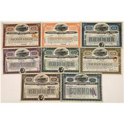 Int'l Mercantile Marine Stocks Includes Very Rare 1905, Pre-Titanic Certificate (8)  [128618]