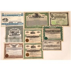 California Farming & Orchard Stocks & Bonds  [113920]