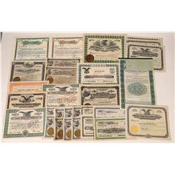 California Lumber Company Stock Certificates  [127374]
