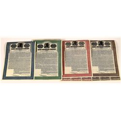 Idaho Irrigation Company Gold Bonds with Coupons (4)  [127713]