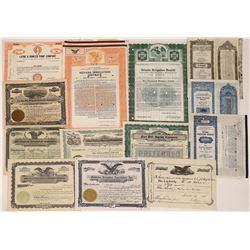Irrigation CO. Certificates  [122412]