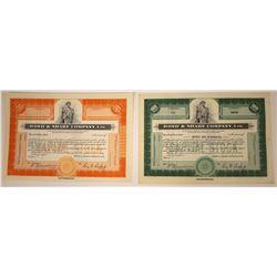 Bond & Share Company, Ltd. Specimen Stocks  [107954]