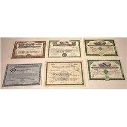 Wells Fargo in California Stock Certificate Group  [107913]