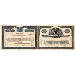 Kidder Peabody Acceptance Stock Certificates (2)  [127693]