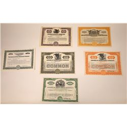 American Bank Note Company (ABN) & Other Stock Certificates   [107942]