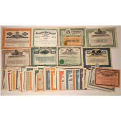 Eastern Loan & Investment Companies Stock & Bond Collection  [113929]