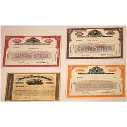 American Express Company Stock Certificates  [107906]