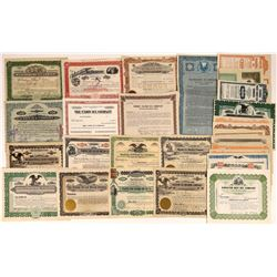 Assorted Ice Company Stock Certificates (36)  [127428]