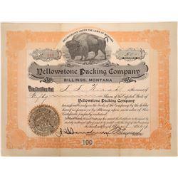 Yellowstone Packing Company, Billing, Montana, 1919  [123948]