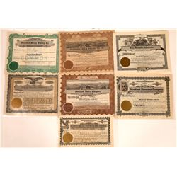 Montana Food Products Stock Certificate Collection  [127576]