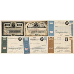 Levi and Stetson Stock Certificates (6)  [128948]