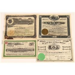 Old Cooperage Companies Stock Certs  [128957]