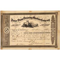 Stone Dressing Company 1857 Stock Certificate  [127369]