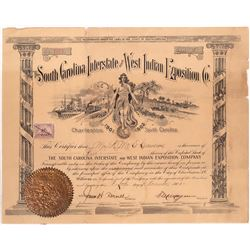 South Carolina Interstate & West Indian Exposition Co. Stock  [128826]