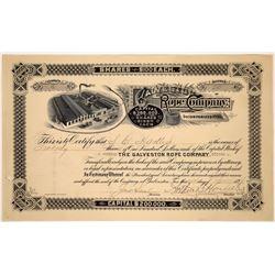 Galveston Rope Co. Stock  [122424]