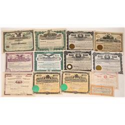 Multi Texas Industrial Stock Certificates.  [122426]