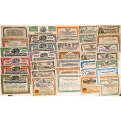 Various Utah Stock Certificates  [127361]