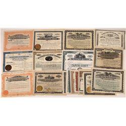 Boiler Company Stock Certificates (19)  [128956]