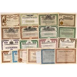 Clothing & Cloth Manufacturing Stock Certificates-19  [127379]