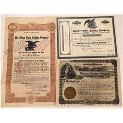 Cutlery Co. Stock/Bond  [122436]