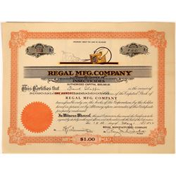 Insectacide Company Stock Certificate  [127410]