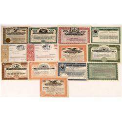Knitting Mills Stock Certificates  [127380]