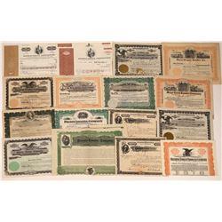 Lumber Co. Stock & Bond Certificates.  [122413]