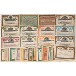 Misc. Eastern Company Stock Certificates Including Specimens (88)  [118770]