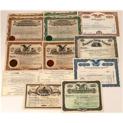 Printing Related Business Stock Certificates-14  [127366]